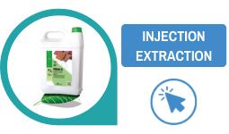 produit moquette injection